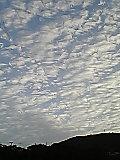 秋っぽい空と雲。